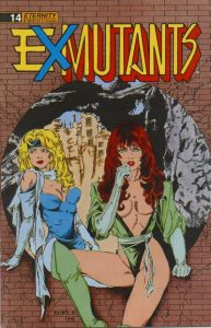 Ex-Mutants The Shattered Earth Chronicles #14 (1990)