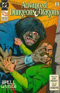 Advanced Dungeons & Dragons Comic Book #14 (1990)