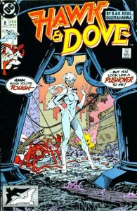 Hawk and Dove #8 (1990)