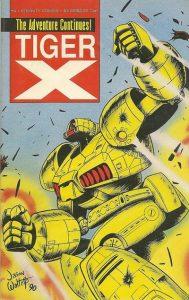 Tiger-X Book II #4 (1990)