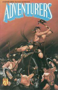 Adventurers Book III #4 (1990)