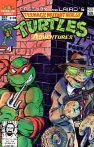 Teenage Mutant Ninja Turtles Adventures #9 (1990)