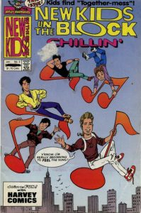 New Kids on the Block Chillin' #2 (1990)
