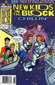 New Kids on the Block Chillin' #5 (1990)