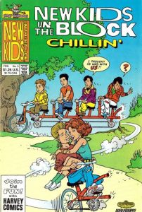 New Kids on the Block Chillin' #3 (1990)