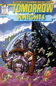 Tomorrow Knights #5 (1990)