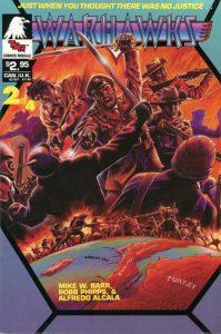 Warhawks Comics Module #2 (1990)