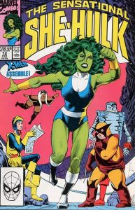 The Sensational She-Hulk #12 (1990)