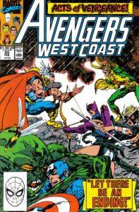 Avengers West Coast #55 (1990)
