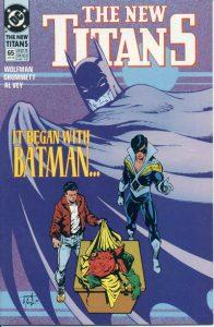 The New Titans #65 (1990)