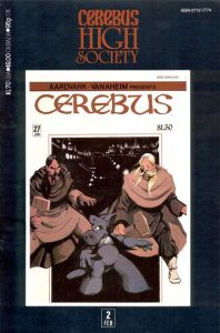 Cerebus: High Society #2 (1990)