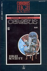 Cerebus: High Society #1 (1990)