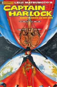 Captain Harlock #5 (1990)