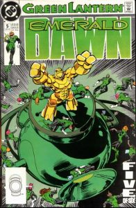 Green Lantern: Emerald Dawn #5 (1990)