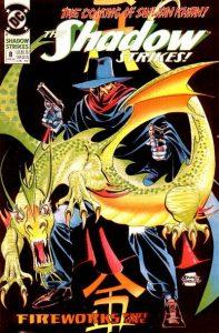 The Shadow Strikes! #8 (1990)