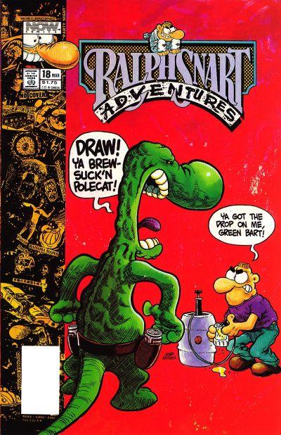 Ralph Snart Adventures #18 (1990)