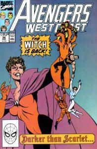Avengers West Coast #56 (1990)