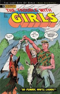 The Trouble with Girls #13 (1990)