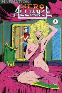 Hero Alliance #5 (1990)
