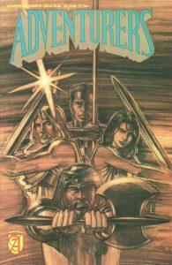 Adventurers Book III #6 (1990)
