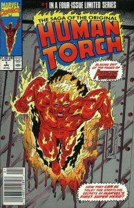 Saga of the Original Human Torch #1 (1990)