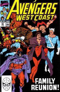 Avengers West Coast #57 (1990)