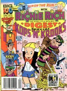 Richie Rich Digest Magazine #20 (1990)