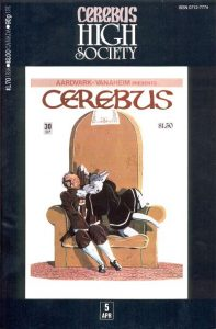 Cerebus: High Society #5 (1990)