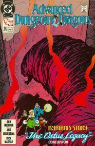 Advanced Dungeons & Dragons Comic Book #18 (1990)