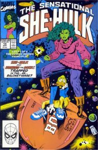 The Sensational She-Hulk #14 (1990)