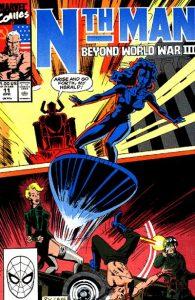 Nth Man the Ultimate Ninja #11 (1990)