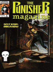 The Punisher Magazine #9 (1990)