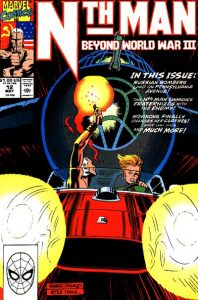 Nth Man the Ultimate Ninja #12 (1990)