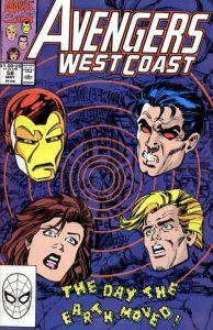 Avengers West Coast #58 (1990)