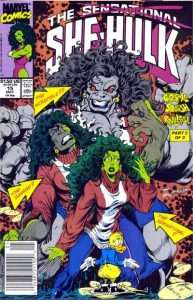 The Sensational She-Hulk #15 (1990)