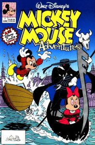 Mickey Mouse Adventures #1 (1990)