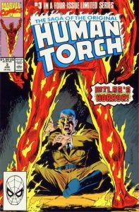 Saga of the Original Human Torch #3 (1990)