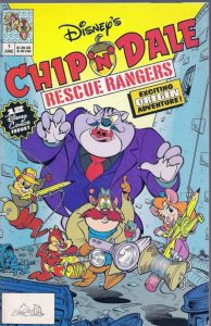 Chip 'n' Dale Rescue Rangers #1 (1990)