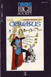 Cerebus: High Society #9 (1990)