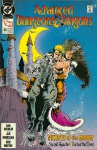 Advanced Dungeons & Dragons Comic Book #20 (1990)