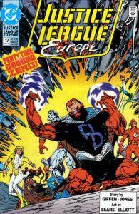 Justice League Europe #17 (1990)