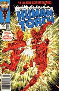 Saga of the Original Human Torch #4 (1990)