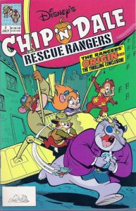 Chip 'n' Dale Rescue Rangers #2 (1990)