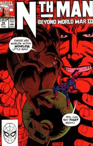 Nth Man the Ultimate Ninja #14 (1990)