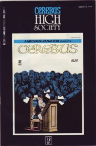 Cerebus: High Society #12 (1990)