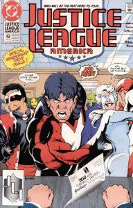 Justice League America #42 (1990)