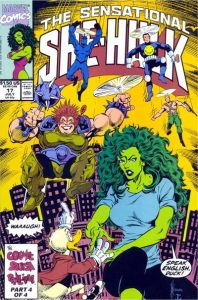 The Sensational She-Hulk #17 (1990)