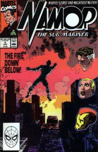 Namor, the Sub-Mariner #5 (1990)