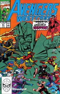 Avengers West Coast #61 (1990)