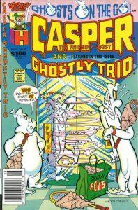 Casper and the Ghostly Trio #8 (1990)